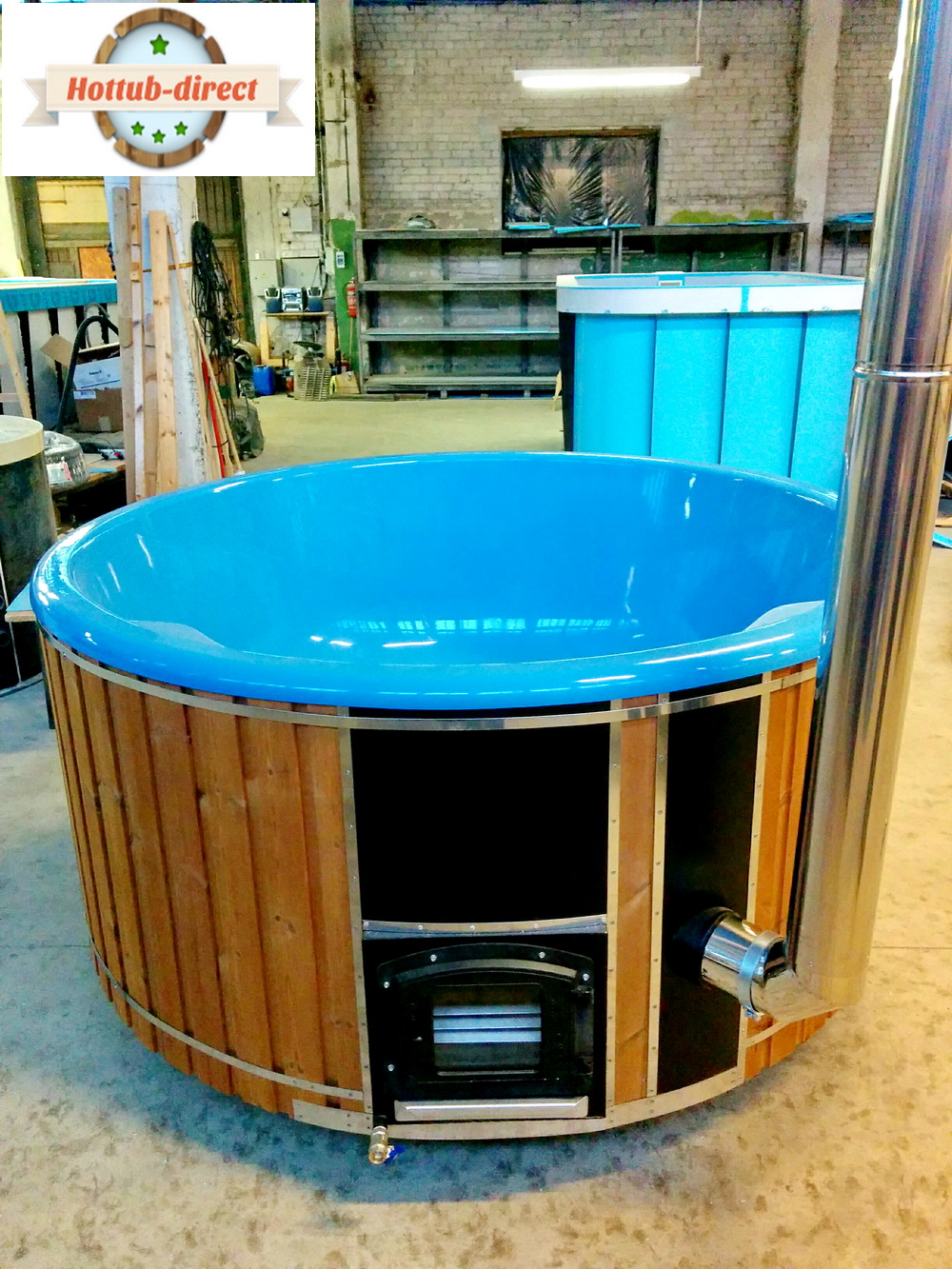 DELUXE GLASS FIBER TUB WITH INTEGRATED WOODEN FIRED HEATER » Blog ...