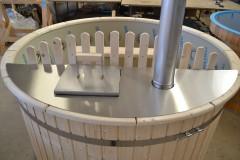 Plastic Hottub 180cm diameter with inside heater SALE, FULL SET)_5