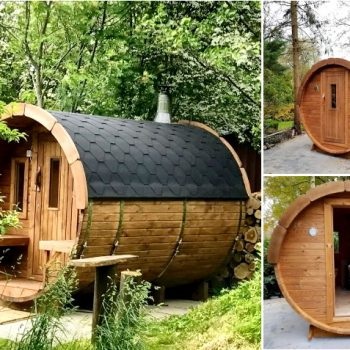 Sauna Fass 3m