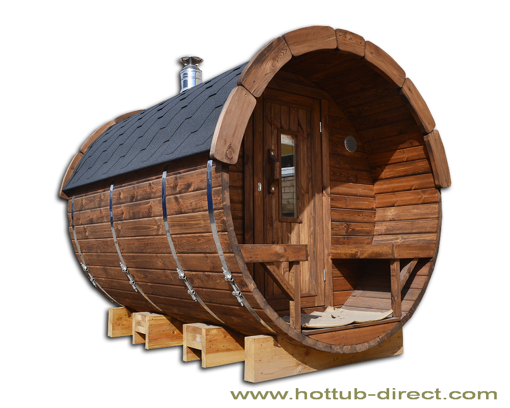 l2 4 m pine barrel sauna 2 27 m with wood burning