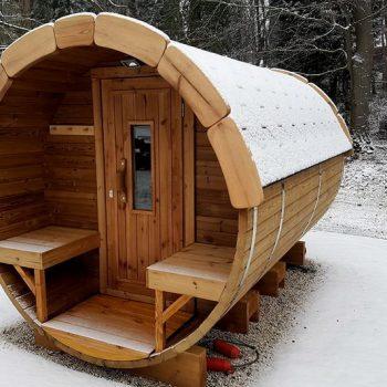 Thermowood sauna