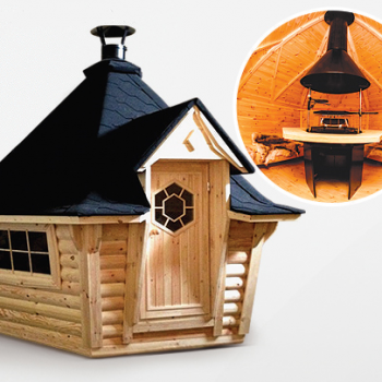 7m Exclusive Bbq Hut Grill Cabin Blog Archive Hottub Direct