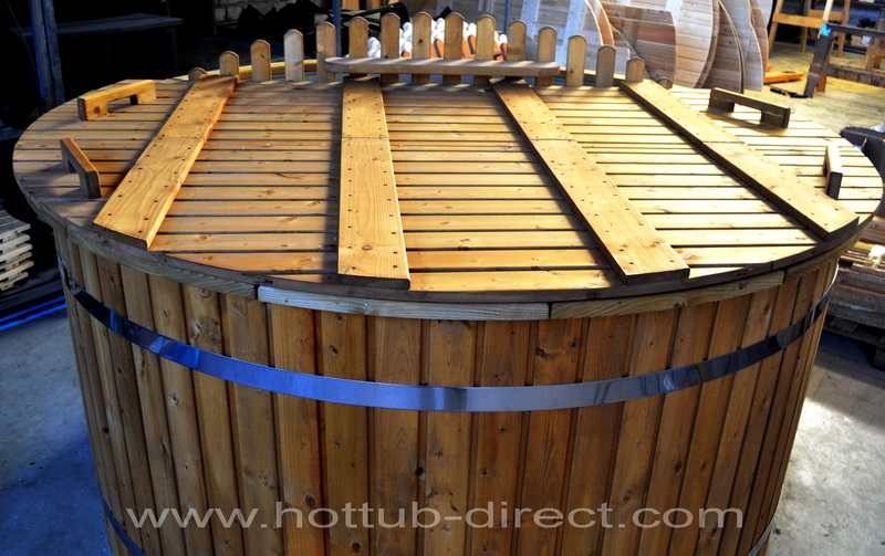 wooden hot wood a sauna gardening in furniture gumtree donegal tub barrel thumbnail patio