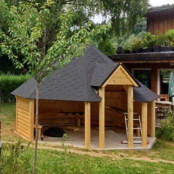 Open grill cabin 16,5m