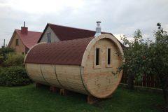 Hottub-Direct barrel sauna (barrel saunen, badetonne)
