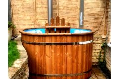 Oval hot tub in england HT2